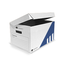 Designed with hand-holes to facilitate the lifting and carryingof the carton, the cardboard single-piece archive box is suitable for archiving files, folders, sleeves, etc. while keeping your items dust-free.